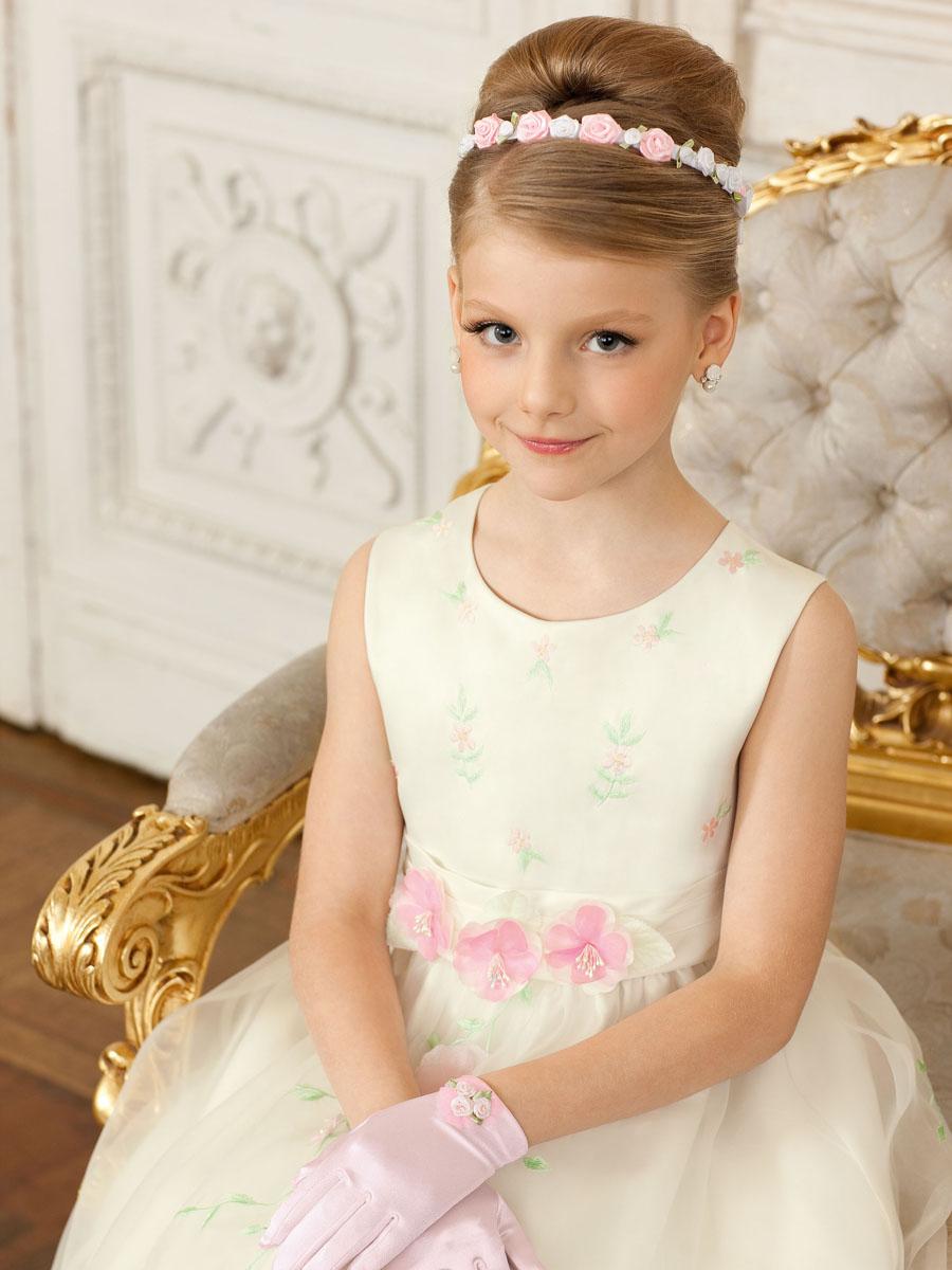 Как сделать прически с диадемой для девочек
